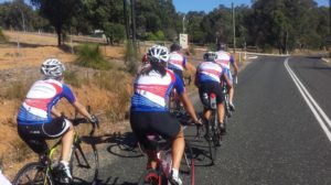 group cycle training triathletes